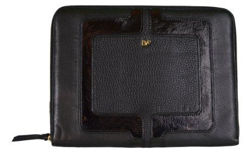 diane-von-furstenberg-chainlink-laptop-case-black-leather