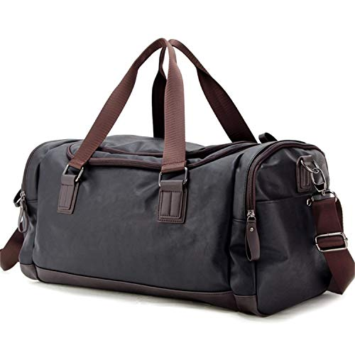 Top PU Travel Duffels Bags Weekender Tote Luggage Bags for Men, Traveling, Gym, Fitness