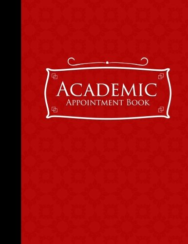 Download Academic Appointment Book: 6 Columns Appointment Pad, Cute Appointment Books, Undated Appointment Book, Red Cover (Volume 18) pdf epub