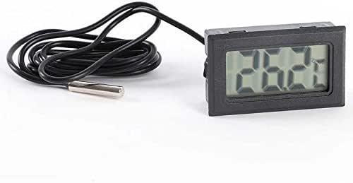 OcioDual Termometro Digital con Sonda Externa De Temperatura LCD ...