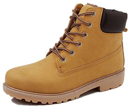 di in scarpe da allacciano taglia Giallo grande dimensioni casual grandi formato le 46 Mocassini pelle Bebete5858 in uomo di particolare tYZawZ