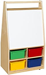 Wood Designs WD95413 Magnetic Art Center with (4) Assorted Trays