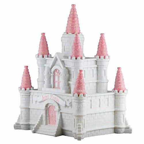 - Princess Castle Girls Piggy Bank - (Personalized & Custom with Name and Year) (First Financial Toy for Teaching Boys & Girls About Saving Money) (Perfect Unique Gift Idea for Babys 1st Birthday)