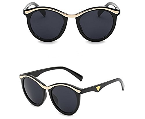 Yelovemei Polarized Fashion Style Women's Sunglasses Unbreakable Frame - Sunglasses Similar To Clubmaster