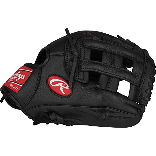 - Rawlings Select Pro Lite Youth Baseball Glove, Black, 11.25