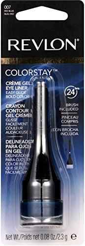 Revlon ColorStay Creme Gel Eyeliner, Rio Blue [007] 0.08 oz (Pack of 12)