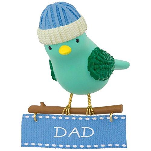 Love Bird Ornament (Hallmark Keepsake 2017 Winter Bird Dad Christmas Ornament)