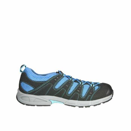 Meindl, 2071-09 Solan Junior, blau (metallicblau-schwarz), Größe 29, Schwarz, Textil, Wechselfußbett