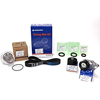 Timing Belt Kit for Chevy Chevorlet Aveo 1.6 Doch Part: 82001004 Sk (Belt, Tensioner and Pulley By: Daewoo), (Seal By: Gm 94580413 and 96350161), ...
