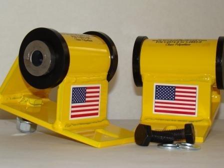 (CU2883-0K4 Ultraflex Rubber Motor Mounts Stock Height Jeep, TJ, LJ 2.4, 2.5 1997 to 2006)