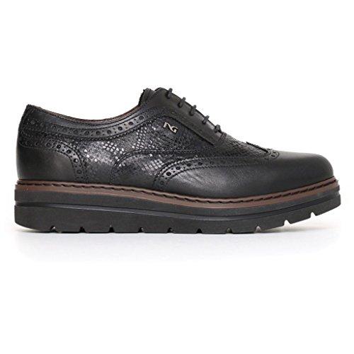 Giardini Sneakers Nero Noir femme basses 70HvAwq