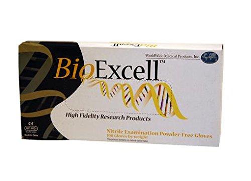 SHEN - BioExcell Powder-Free- Nitrile- Gloves-Small , CS1000