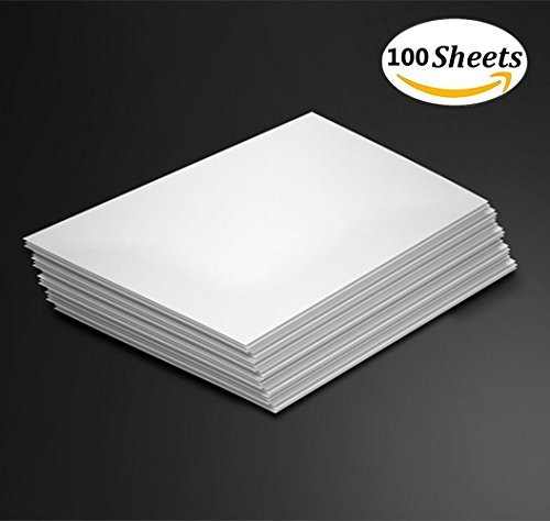 100 Sheets Cotton Watercolor Paper Cold Press Cut Beginning Artists or Students Practice 6 x 9 inch (White)