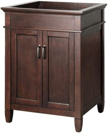 Foremost ASGA2421 Ashburn 24-Inch Width x 21.5-Inch Depth x 34-Inch Height Vanity Cabinet, Mahogany