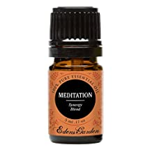 Meditation Synergy Blend Essential Oil- 5 ml (Ylang Ylang, Patchouli, Frankincense, Clary Sage, Sweet Orange & Thyme)