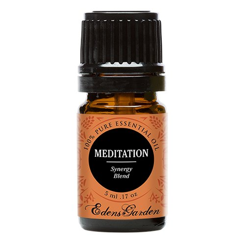 Meditation Synergy Blend Essential Oil- 5 ml (Ylang Ylang, Patchouli, (Meditation Aromatherapy)