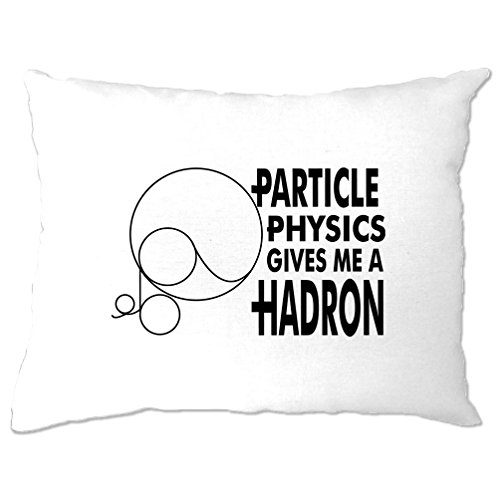 Pillowcase Apron - Tim And Ted Particle Physics Gives Me A Hadron CERN Higgs Boson Accelerator Pillow Case White One Size