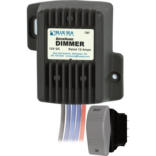 - Blue Sea Systems Blue Sea 7507 Deckhand Dimmer - 12 Amp/12V