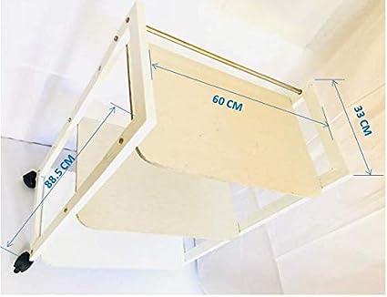 Buy DG DEXAGLOBAL Beauty Metallic Smart Trolley Rack Table