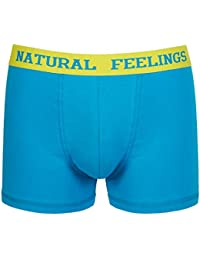 Mens Underwear Boxer Briefs Breathable Cotton Classic Open Fly Underwear Men Pack