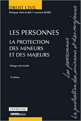 Livre gratuits Les personnes : La protection des mineurs et des majeurs pdf, epub