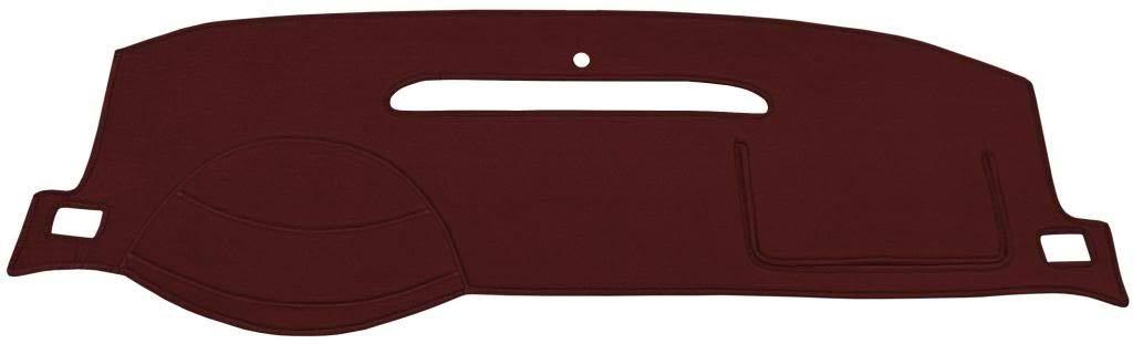 Fits 2004-2008 Custom Velour Charcoal W//Display Pontiac Grand Prix Dash Cover