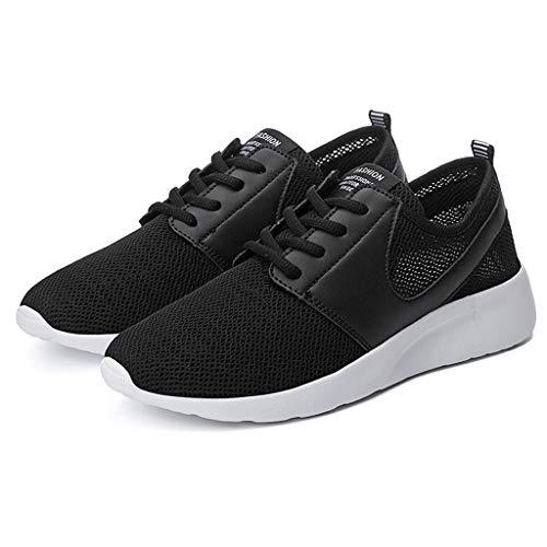 Unisex Sneaker Sportschuhe für Herren Damen Herrenschuhe leichte Laufschuhe Engmaschige Elastische Atmungsaktive Freizeitschuhe