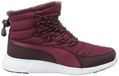 Rouge red Boot Plum Winter red Plum Femme Mi Doublées Puma Non St Bottes Rot hauteur 02 4P7wzq