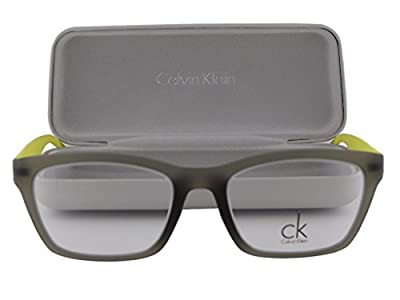 Calvin Klein CK5831 Eyeglasses 52-19-145 Military Green Yellow 317