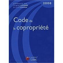 CODE DE LA COPROPRIÉTÉ 2008 12ÈME ÉDITION