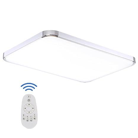 SAILUN 48W Regulable LED Lámpara Moderna Del Techo Lámpara De Techo ...