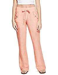 G by GUESS Shanelle Crosshatch Linen Pants