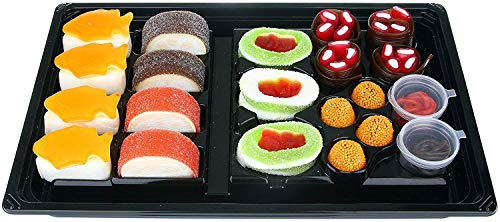 Raindrops Candy Gummy Sushi Bento Box ()