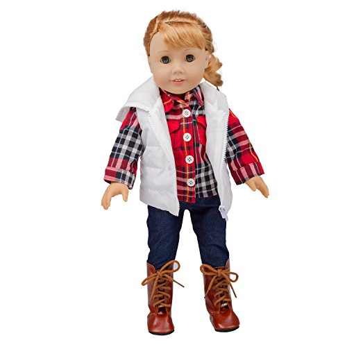 - Dress Along Dolly Fall Outfit American Girl 18