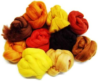 Russet marrón lana de oveja merina compartimentos/tops. Una mezcla ...