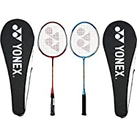 Yonex GR 303 Aluminum Blend Badminton Racquet with Full Cover, Set of 2