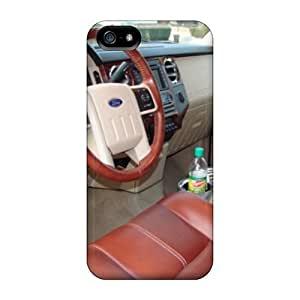 Flexible Tpu Back Case Cover For Iphone 5/5s - Ford Truck