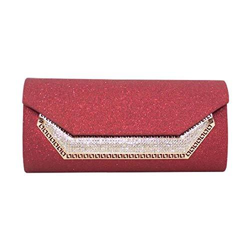 Moyen Red pour Noir Hautefordiva Pochette Femme w1RIB7xZq