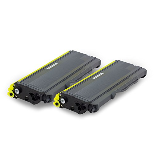 2PK - SOJIINK Brother Compatible TN350 High Yield Black Laser Toner Cartridges for Brother DCP-7020, IntelliFax-2820, IntelliFax-2910, IntelliFax-2920, HL-2040, HL-2070N, MFC-7220, MFC-7225N Printers