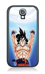 Case Dragonball Z Cartoon Hit Cover for Samsung S5 DB18 Border Rubber Silicone Case Black@pattayamart