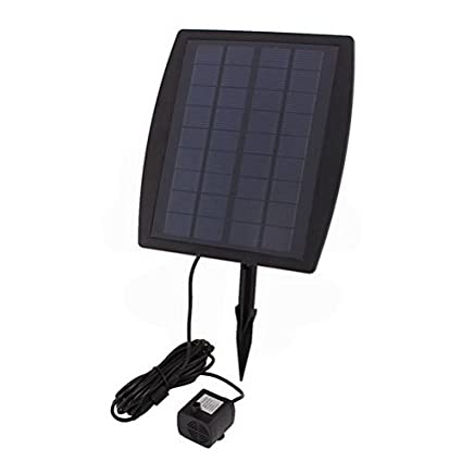 25w solar power fountain water pump panel kit pool garden pond submersible watering by uptell - Water Garden Theater