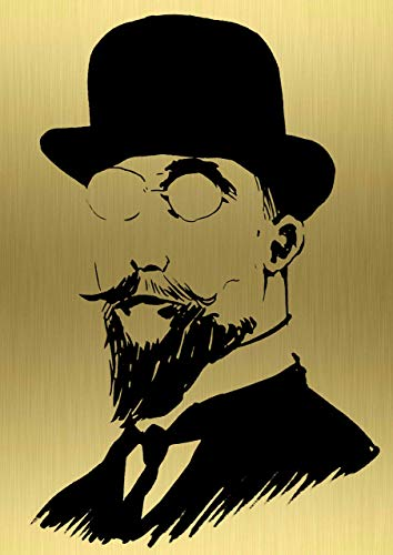 - Erik Satie wall art by InSpiral Tree | Portrait, Music lover gift, Metal artwork - A groundbreaking, new way to display your preffered art on brass/copper - bar, restaurant decor, poster, man cave