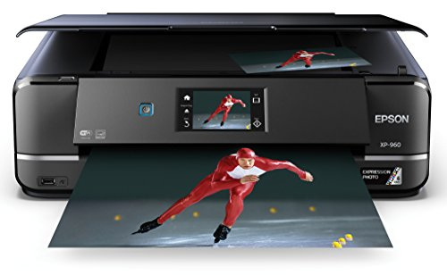 Epson Expression Photo XP-960 Wireless Color Photo Printer with Scanner and Copier, Amazon Dash Replenishment Enabled
