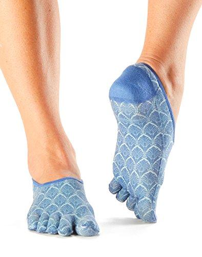 ToeSox Women's Casual Dash Socks (Tile) Small