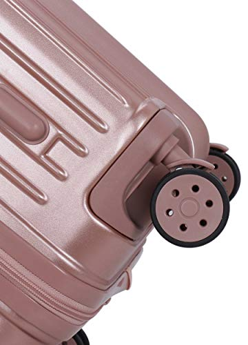 ROMEING Siena Polycarbonate Hardside Luggage Set of 2 (Rosegold) (55 & 65 cms) Trolley Bag
