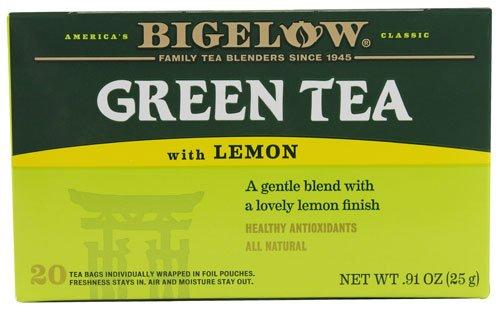 Bigelow Tea Green Tea Lemon -- 20 Tea Bags