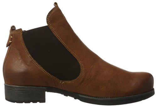 Think! Damen Denk_181011 Chelsea Boots Braun (Sattel/Kombi 52)