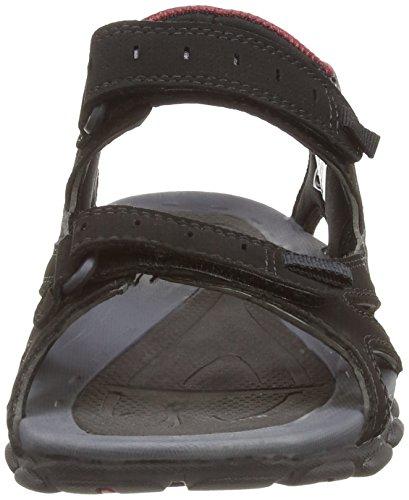 Hi-Tec Laguna Strap, Men's Sandals Black/Charcoal/Port