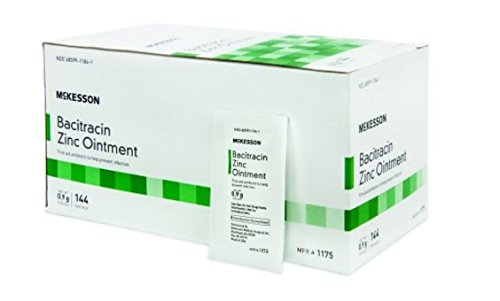 First Aid Antibiotic 0.9 Gram Ointment Individual Packet - Item Number 1175EA - 1 Each / Each - Antibiotic Ointment Foil