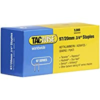 Tacwise 0304 97/20mm Narrow Crown Staple Galvanised by